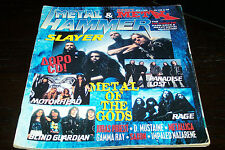 METAL HAMMER MAGAZINE 8/1996 METALLICA JUDAS PRIEST SLAYER