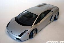 !DAMAGED BROKEN 1/18 silver Lamborghini Gallardo sports car AUTOArt metal