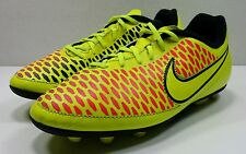 Nike Magista Junior Soccer Cleats Yellow and Orange Youth Size 3.5