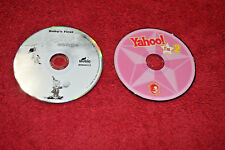 LOT 2 CDs Baby's First Happy Songs & YAHOO I'm 2 DREWS FAMOUS PARTY MUSIC EUC