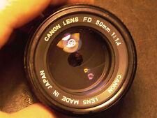 Canon 50mm F:1.4 FDn lens Nikon  Sony A99 A99ll A7r A7rll A7 Nex Pentax