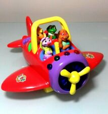 Leap Frog Flying Friends Plane with 3 friends Learning Counting Toy RARE