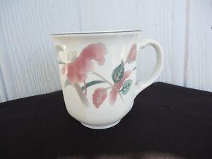mikasa continental silk flowers   f 3303  coffee mug