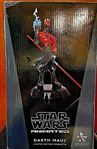 Star Wars Animated Darth Maul Limited Edition Maquette Statue