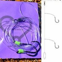 5x paternoster rigs 6/0-60lb,fishing lumo snapper jew boat beach Hand Tied line