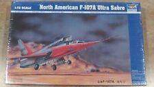 Trumpeter 1/72 North American F-107A Ultra Sabre in shrinkwrap