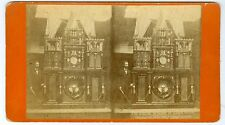 F59573~ Eight Wonder of Eagle Clock Stereoview