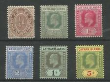 Edward VII (1902-1910) Mint Hinged British Colonies & Territories Multiple Stamps