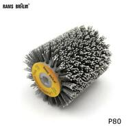 Abrasives Wire Brush Wheel Sander P600 Wooden Furniture Polishing 100*120*13mm