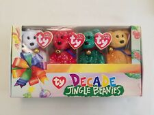 Ty Beanie Baby Decade Jingle Beanies NIB