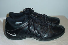 RARE NIKE 2011 SHOE 324751-011 BLACK ANIMAL EMBOSSED LEATHER MENS SZ 9.5