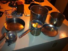 VINTAGE ALUMINUM CAMP COOK SET