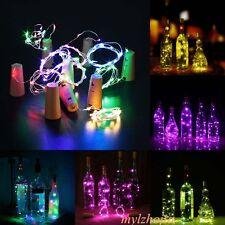 5Pcs LED Verre Bouteille étoile Fée Lumière Lampe Jardin Patio Table Rétro Décor