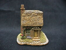 1993 Lilliput Lane Uk The Spinney Cottage Hand Painted Cert of Auth & Deed