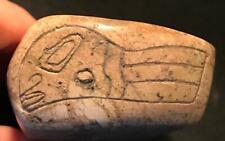 """New listing Rare Pre-Columbian """"Alien Stone"""", Mexico,(Ojuelos)"""