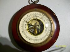 Vintage Stormy Rain Change Fair Very Dry Barometer From West Germany