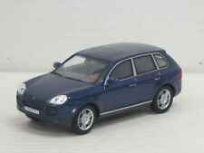 Porsche Cayenne Turbo in dunkelblaumetallic, ohne OVP, Hongwell/Cararama, 1:43