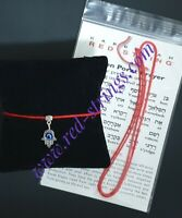 SPECIAL EDITION BLESSED RED STRINGS BRACELET KABBALAH EXCELLENT PROTECTION