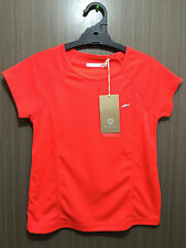BNWT Girls Size 12 Fluro Coral Target Active Short Sleeve Sports Athletics Top