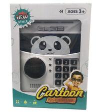 Mel Cartoon Panda Piggy Electronic Password Bank Safe Cash Coin Can for Kids