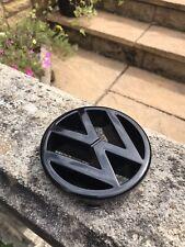 Genuine VW MK1 Golf Cabriolet Clipper 5 slat Front Grill Badge Emblem (Black)