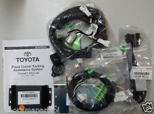 Toyota Kluger Front Parking Sensors 2 Head Kit Silver GENUINE NEW