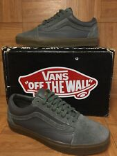 RARE🔥 VANS x Supreme Old Skool '92 Zero Gray Leather Suede Gum Sz 9.5 Men's