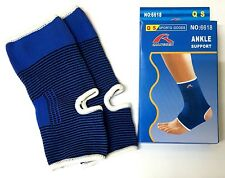2 x Elastic Ankle Support Protection Sport gym Sock Running Injury Sprain