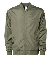 SUBROSA BOMBER JACKET VANS SHADOW CONSPIRACY OBEY SUPREME ARMY GREEN NEW