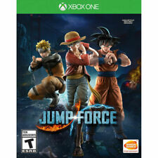 JUMP FORCE XBOX ONE NEW! DRAGONBALL Z, NARUTO, ONE PIECE, FIGHT, COMBAT FIGHTER