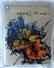 SHAKESPEARE HENRY IV Part 2 Unabridged Two Audio Cassette  NEW