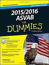 2015 / 2016 ASVAB For Dummies with Online Practice by Powers, Rod