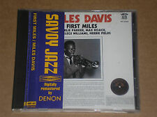 MILES DAVIS - FIRST MILES - CD JAPAN COME NUOVO (MINT)