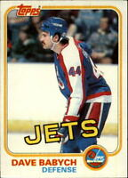 1981-82 Topps Hockey Base Singles (Pick Your Cards)