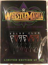 WWE Finn Balor Club Forever Wrestlemania 34 Axxess Limited Edition 340 Pin