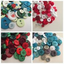 Unbranded Resin Cardmaking & Scrapbooking Buttons