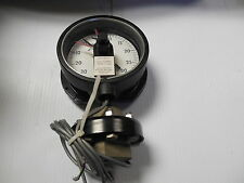 "New Ashcroft Pressure Gauge 0-30 Psi 0-30 in Hg vac 5"" Dia"