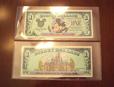 """1996 Disney Dollar - $1. - Mint Condition - In Holder - Mickey Series """"A"""""""