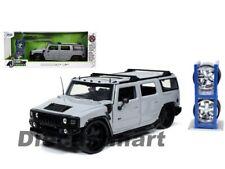 Jada 1:24 Just Trucks with extra Wheels Hummer H2 Grey 32310 Diecast Model Car