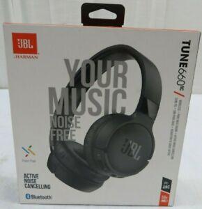 JBL Tune 660NC Active Noise Cancelling Bluetooth Headphones Black