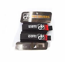 11ocean & Earth Bodyboard Fin Savers for Bodyboarding Flipper Velcro Straps