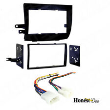 95-8208 Double Din Radio Install Dash Kit & Wires for Sienna, Car Stereo Mount
