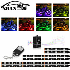 6pcs Music Control Flexible Strip Motorcycle ATV 36 LED Neon Accent Lighting Kit