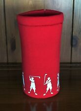 Neophrene Insulated Bottle Holder. Red