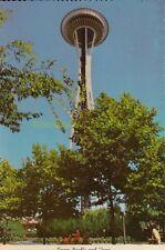 NOS Vintage 1975 Seattle Washington SPACE NEEDLE Postcard