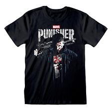 Official Punisher T Shirt Frank Castle Poster Blood Marvel Comics S M L XL XXL