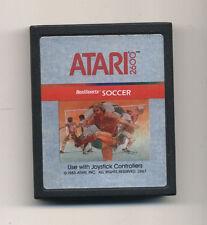 ATARI 2600 - RealSports SOCCER - OTTIMO 1983 Real Sports Football Calcio