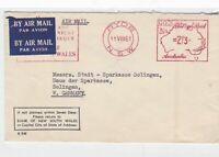 ryde nsw 1961 slogan machine cancel stamps cover  ref 10108