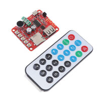 MP3 USB Flash Drive Player Decoding Amplifier Board Module w/ Remote Control
