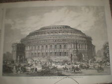 Central hall Arts and Sciences (Albert Hall) for South kensington london 1867